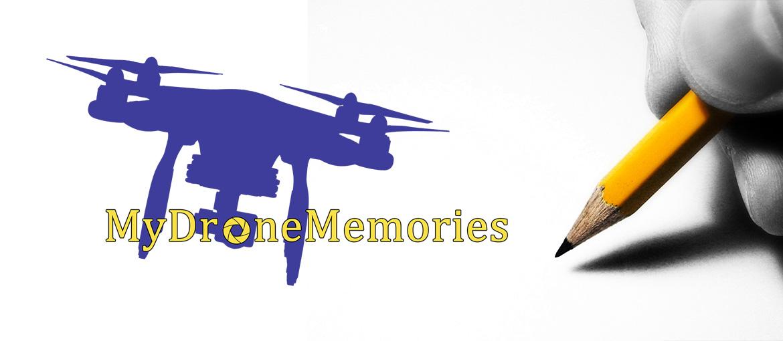 """Δημιουργία Λογοτύπου """"My Drone Memories"""""""