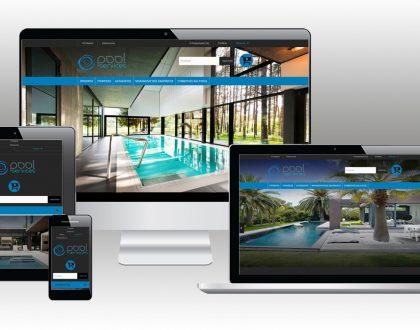 """Σχεδιασμός Ιστοσελίδας """"Pool Services"""""""