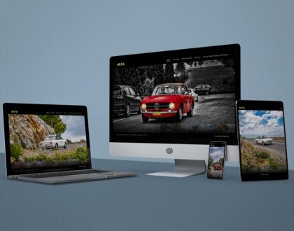 """Website Design """"ALPA Racing Team"""""""