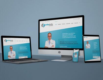 "Website Design ""OrthoInfo"""