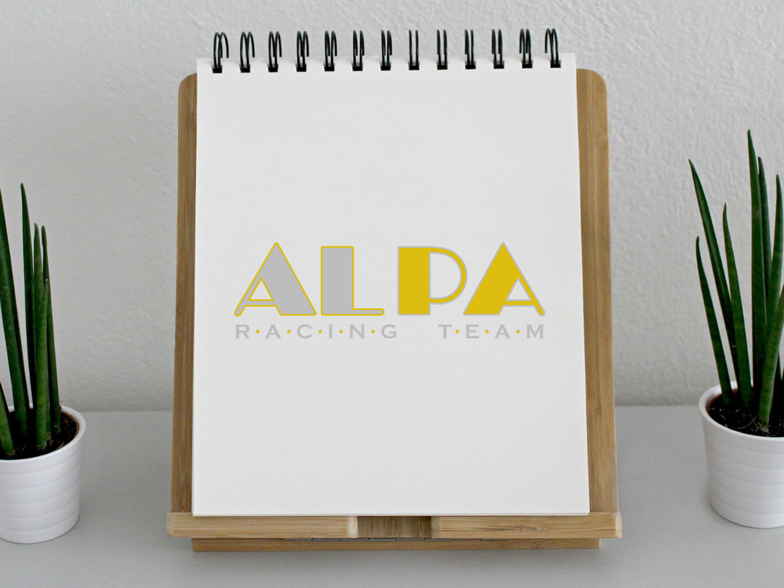 "Logo Design ""ALPA Racing Team"""