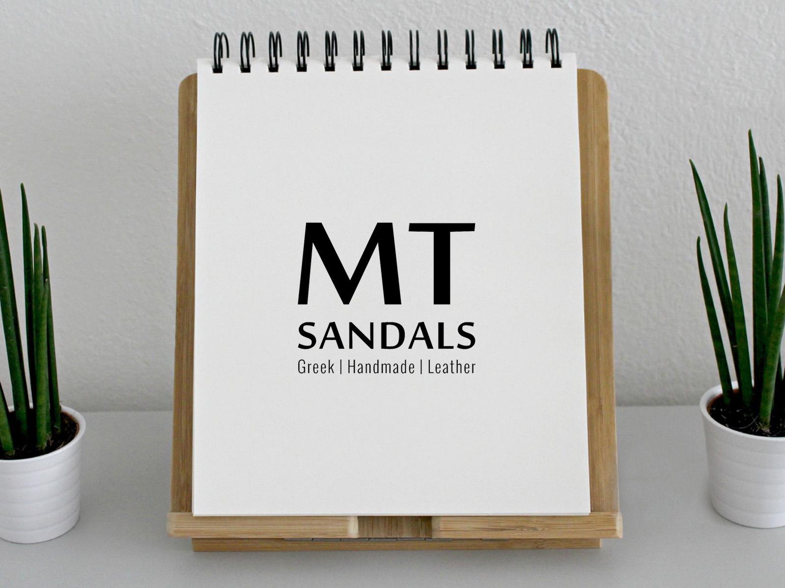 "Logo Design ""MT Sandals"""