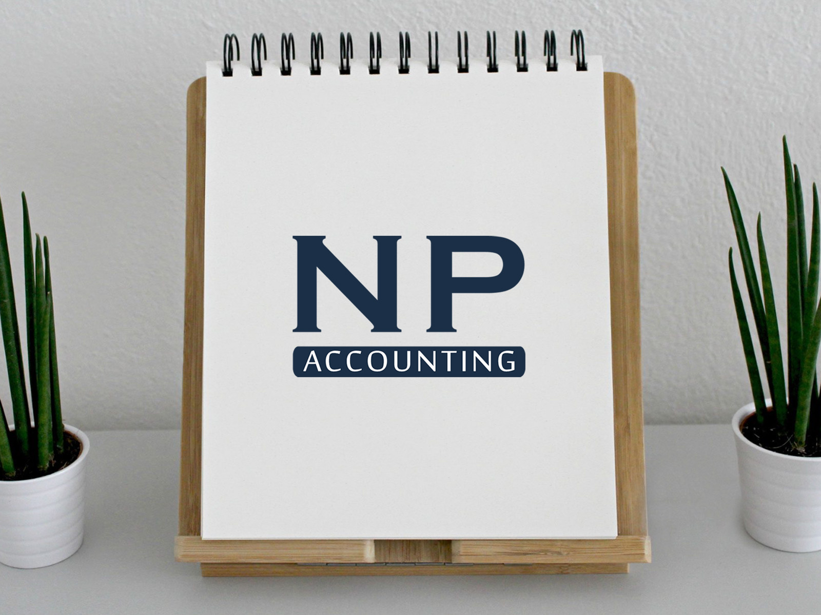"Logo Design ""NP Accounting"""