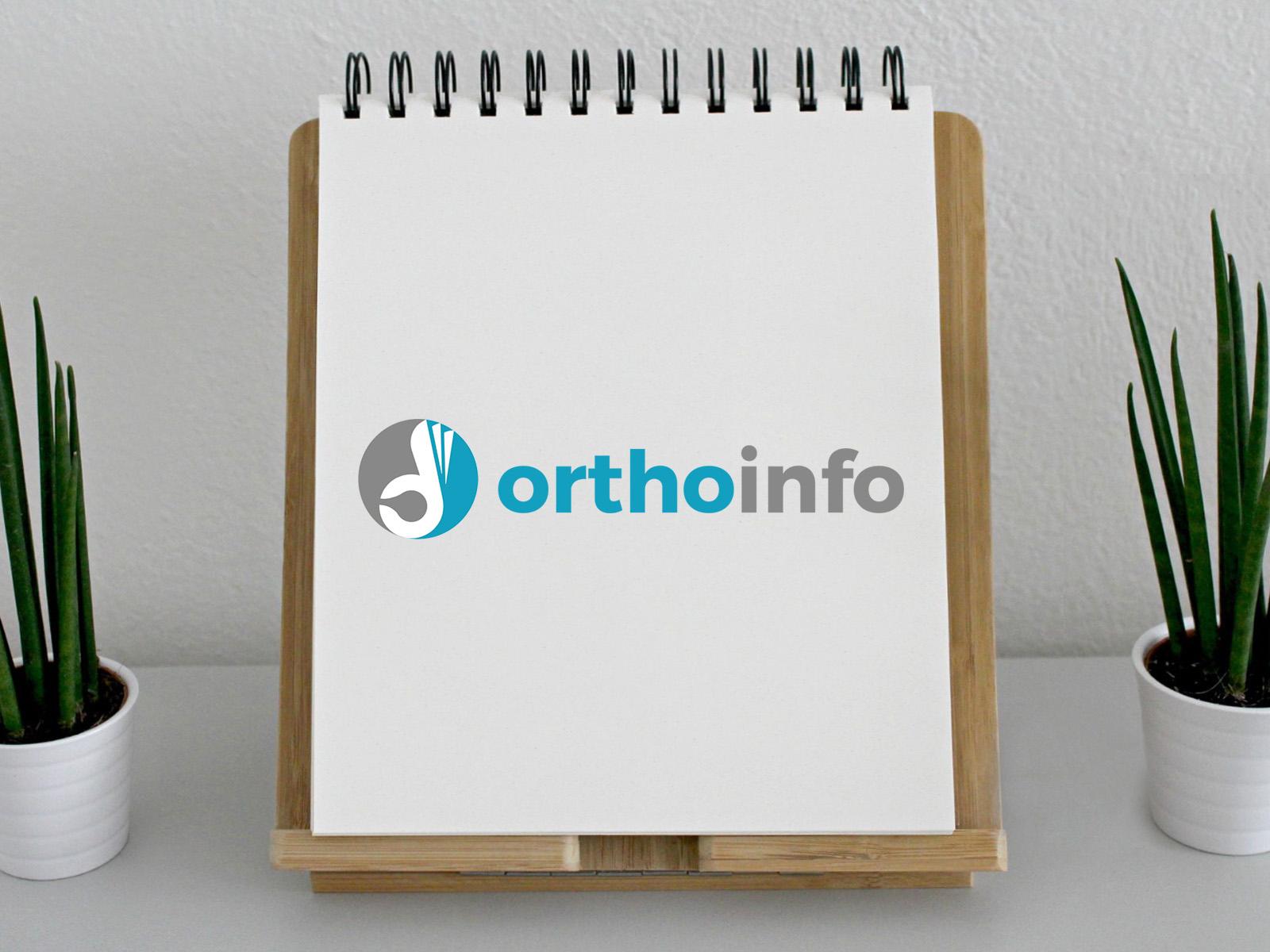 """Diseño Logotipo """"OrthoInfo"""""""