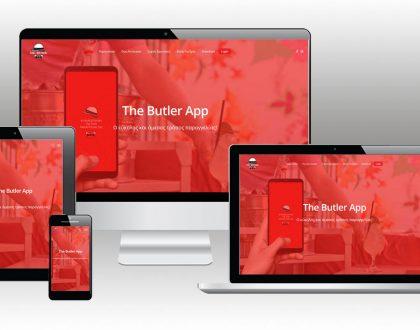 """Κατασκευή Ιστοσελίδας """"The Butler App"""""""
