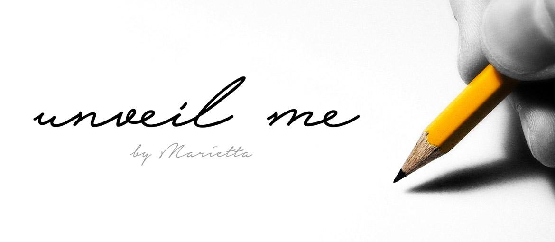 """Δημιουργία Λογοτύπου """"Unveil Me"""""""