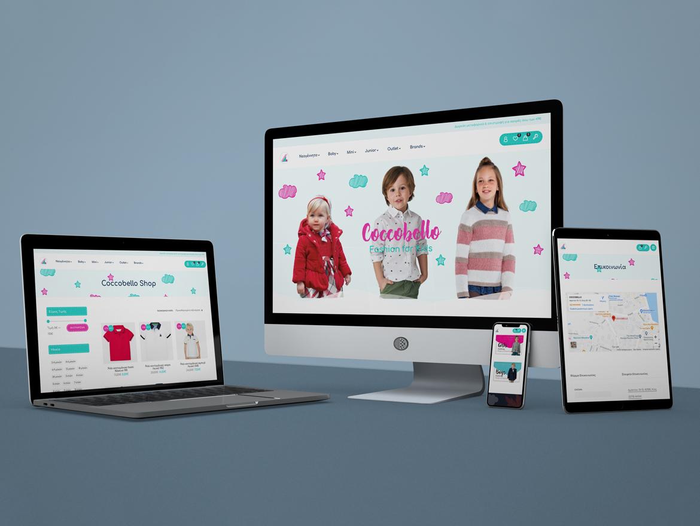 """Electronic Store Design """"Coccobello"""""""