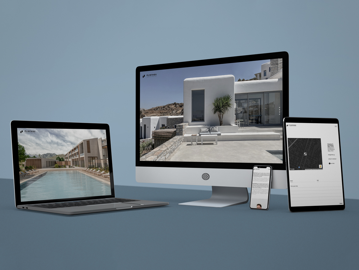 "Website Construction ""Plinthos Architects"""